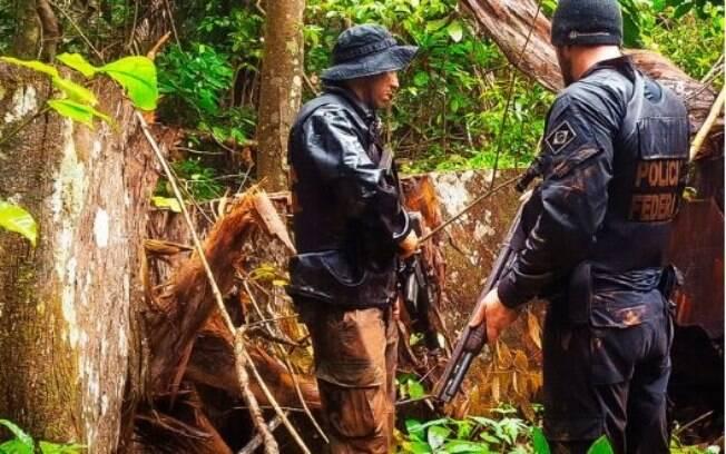 Operação Arquimedes da PF visa desmatamento ilegal na Amazônia