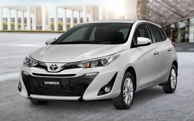 Toyota Yaris. Foto: Divulgação