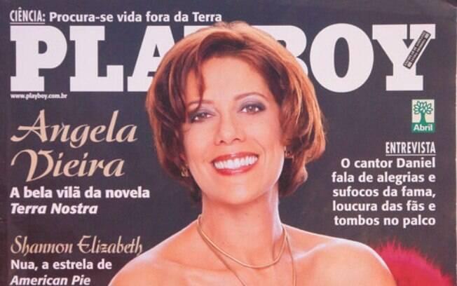 Ângela Vieira posou nua aos 47 anos