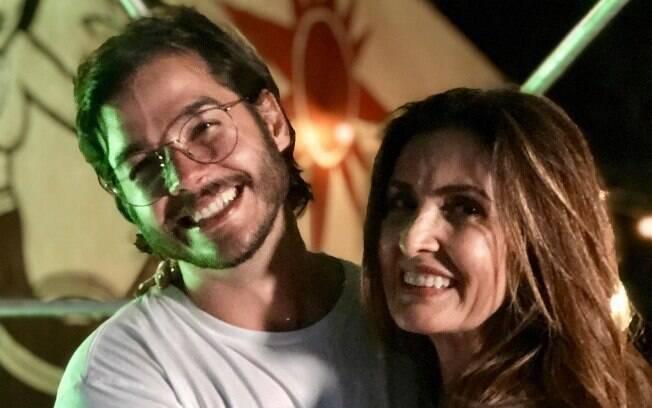 Túlio Gadelha, namorado de Fátima Bernardes, aproveitou o Instagram para comemorar a sua eleição como deputado