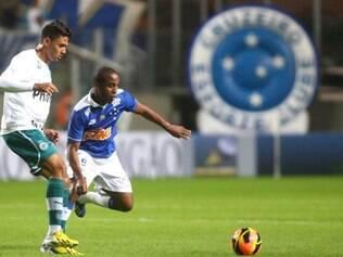 Borges mostrou bastante empenho e movimentação na goleada sobre o Goiás
