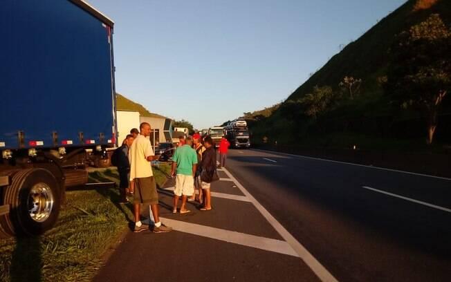 Protesto de caminhoneiros é reação a decisão do ministro do STF Luiz Fux