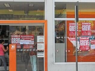 Bancários da cidade aderiram à greve nacional