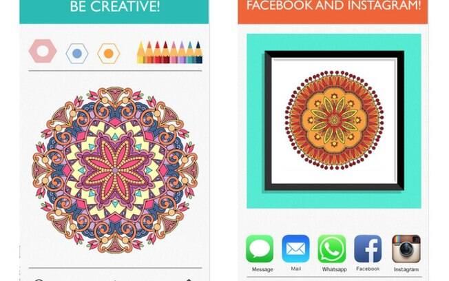 Colorfy é aplicativo gratuito de livros de colorir para adultos