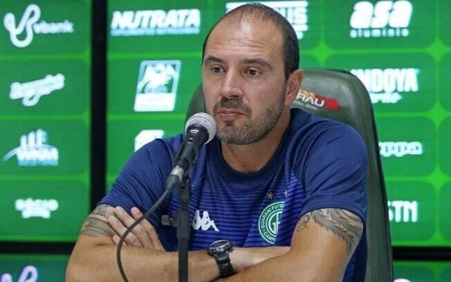 Bruno Silva crê em evolução do Guarani com treinamento