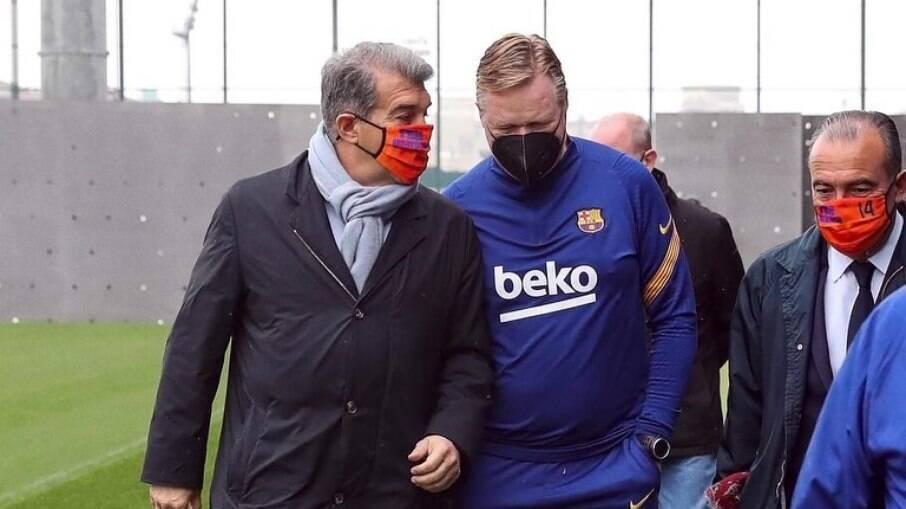 Joan Laporta é o novo presidente do Barcelona