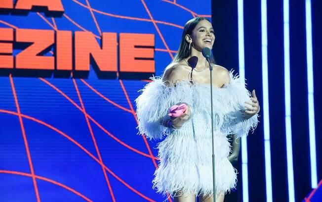 Bruna Marquezine fez discurso político no MTV Miaw