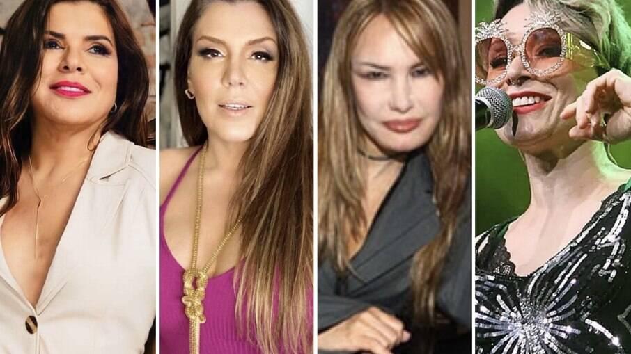 Mara Maravilha, Simony, Rosana e Patrícia Marx
