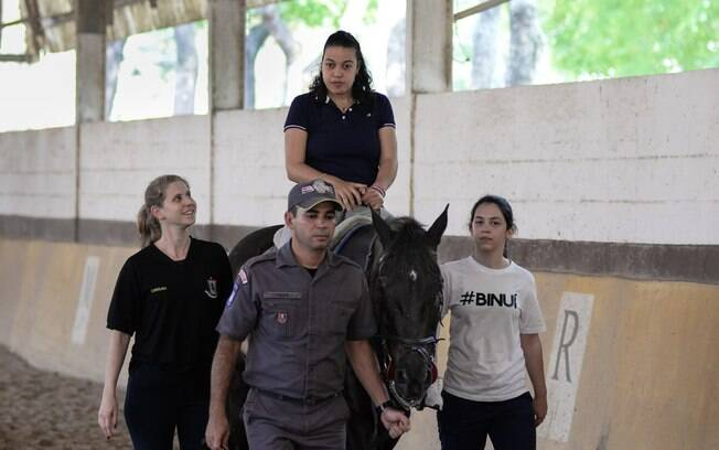 Programa de equoterapia desenvolvido pelo Regimento de Cavalaria 9 de Julho, Polícia Militar de São Paulo