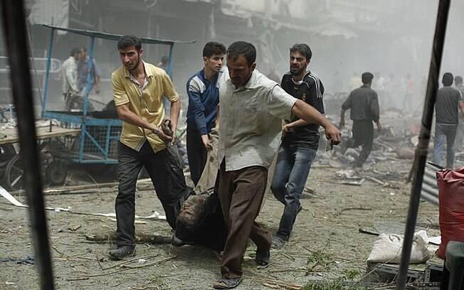 Capital da Síria, Damasco tem sido cenário recorrente de atentados terroristas como o ocorrido nesta quarta-feira (15)