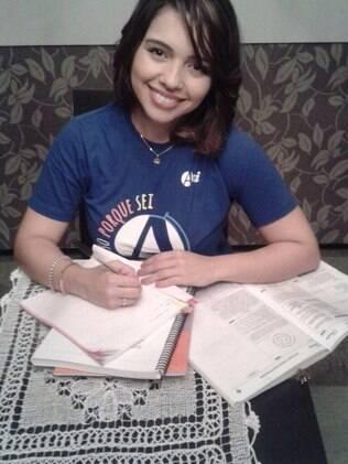 Vanessa frequentou o laboratório de redação do cursinho Ari de Sá para melhorar seu texto