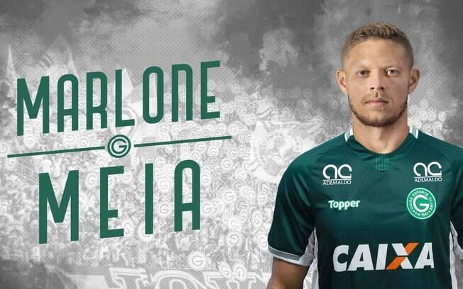 Mercado da bola: Marlone é o novo reforço do Goiás para 2019