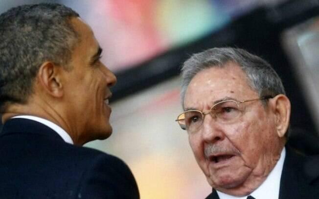 Encontro de Obama com Raúl Castro na cúpula pode marcar o anúncio da reabertura da embaixada americana em Havana