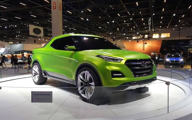 O protótipo Hyundai Creta STC foi uma das surpresas do Salão do Automóvel de 2016.