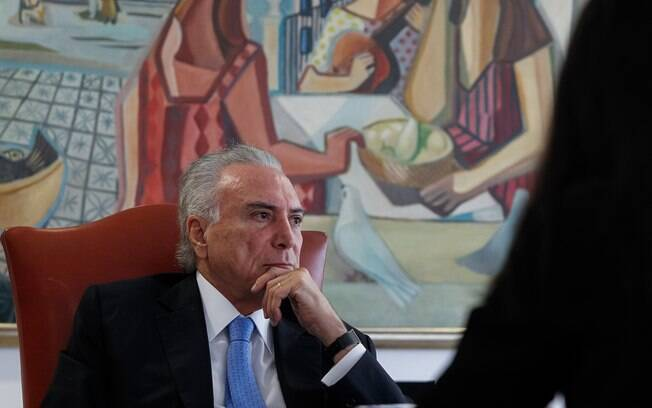 Michel Temer deu as declarações sobre a reforma da Previdência durante a cerimônia de abertura do Enai, em Brasília