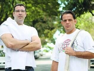 """Reconhecimento.  Famílias de viciados em crack consideram Carsalade e Silveira """"mágicos"""""""