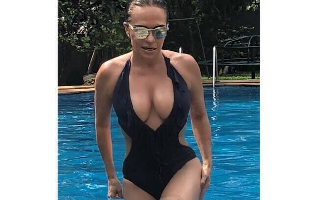Luíza Tomé arranca suspiros com foto nas redes sociais