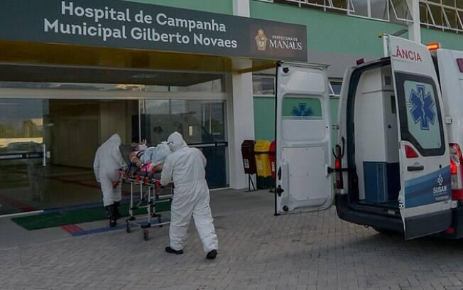 Pacientes estão sendo transferidos a outros estados