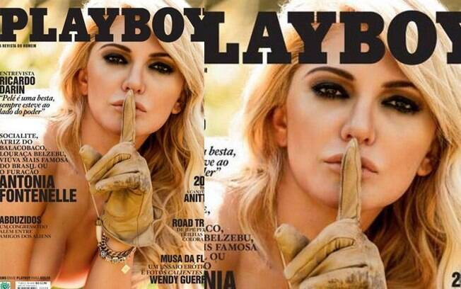 Antônia Fontenelle e sua capa da 'Playboy' de julho de 2013