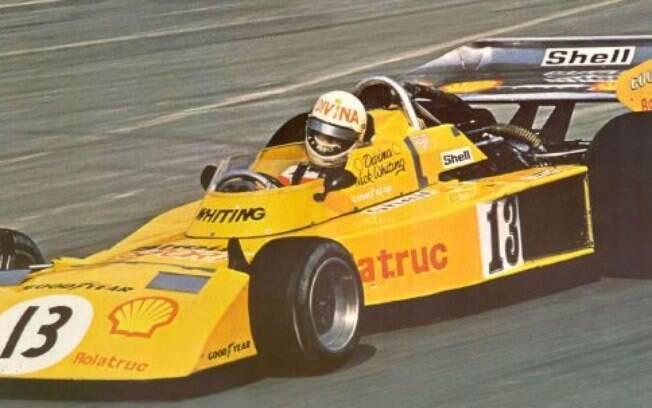 Divina Galica tentou se classificar para o GP da Grã-Bretanha de 1976 usando o 13%2C mas não conseguiu