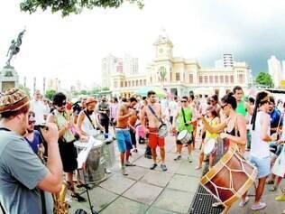 Ocupação. Movimentos com o Praia da Estação nasceram após mudanças nas regras para eventos em um dos principais espaços do centro