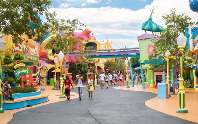 Cidade conta com diversos parques temáticos com atrações para adultos e crianças