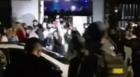 Polícia põe fim em festa com 600 pessoas
