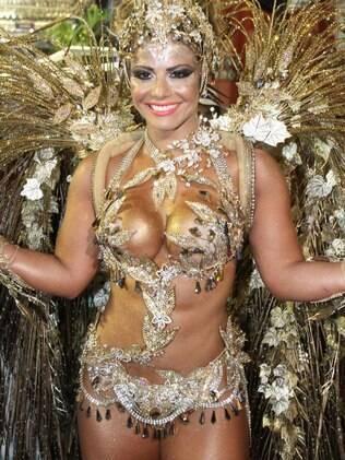 Viviane Araújo no Carnaval