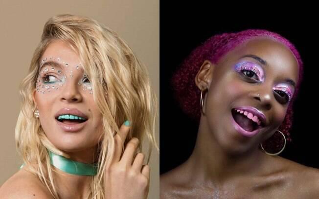 Segundo o criador do produto, o esmalte colorido no dente está se popularizando no circuito de festivais americanos