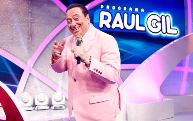 Raul Gil recebeu