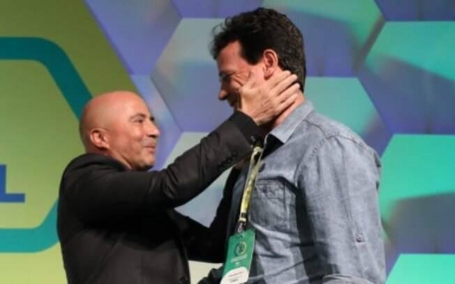 Jorge Sampaoli e Fernando Diniz