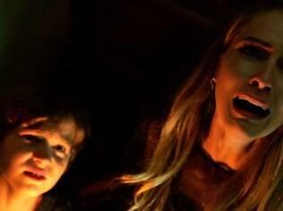 Medo do escuro é tema do filme