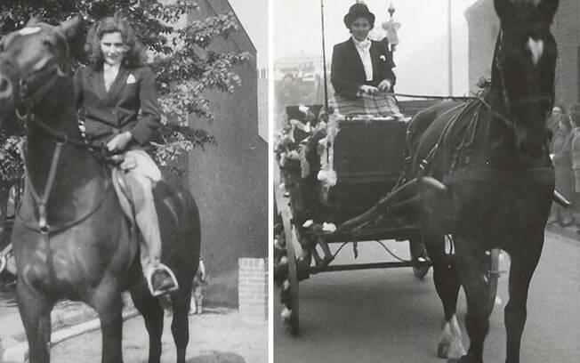 Deisy e seu amor pelos cavalos