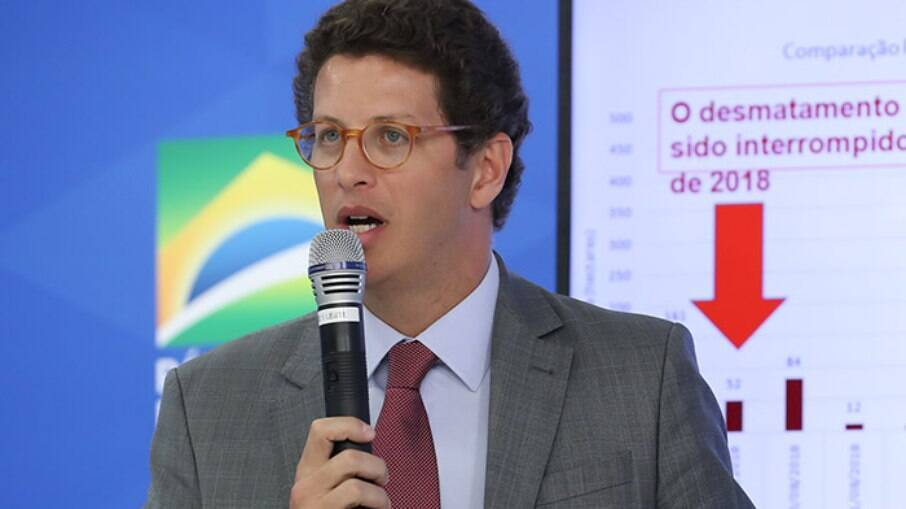 Ministro do Meio Ambiente Ricardo Salles