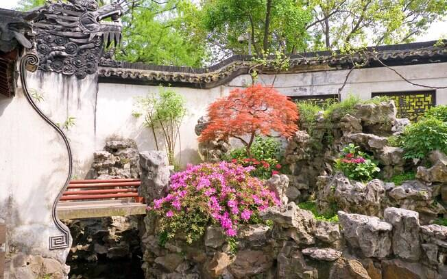 Yu Gardens: espaço para algumas horas de descanso