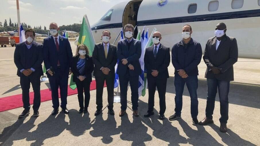 Comitiva brasileira enviada para Israel