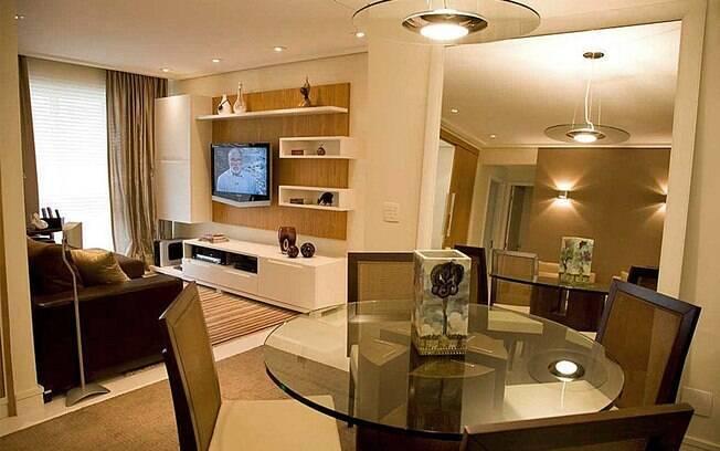 decoracao de ambientes pequenos e integrados : decoracao de ambientes pequenos e integrados:Apartamento de solteiro: alternativas para ganhar espaço