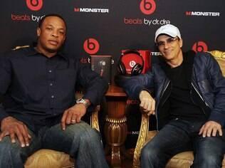 Dr. Dre e Jimmy Iovine, os fundadores da Beats