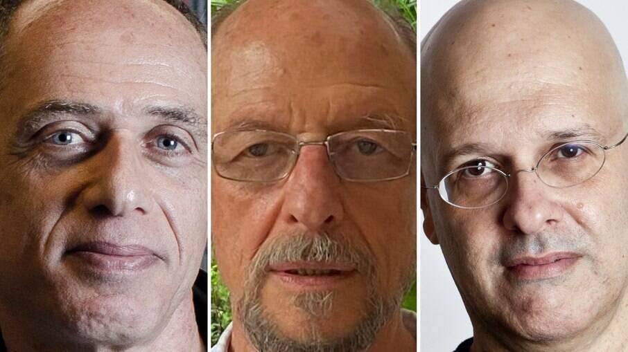 Samuel Seibel, Israel Beloch e Alberto Mussa
