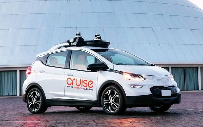 Chevrolet Bolt: um dos carros autônomos, em fase de testes, deverá andar nas ruas a partir do ano que vem, diz a fabricante