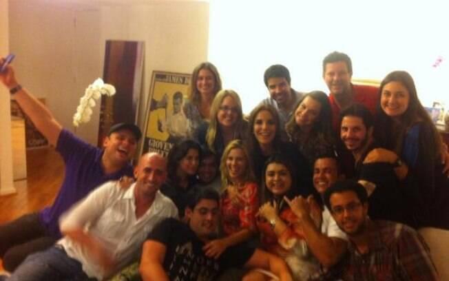 Foto com todos os amigos de Preta Gil nessa quarta-feira (21)