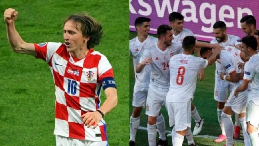Espanha X Croácia