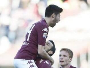 Torino venceu a Sampdoria por 5 a 1 com três gols de Quagliarella