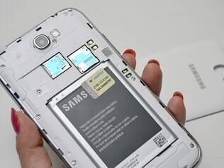 Bateria do Galaxy Note II tem excelente duração