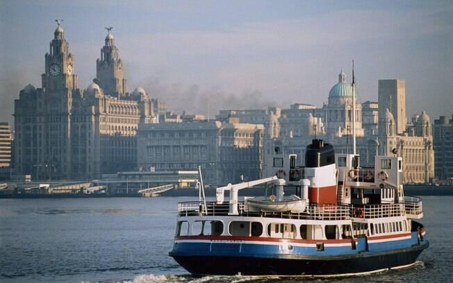 Foi na cidade portuária de Liverpool que surgiram os Beatles, banda que revolucionou a história do rock