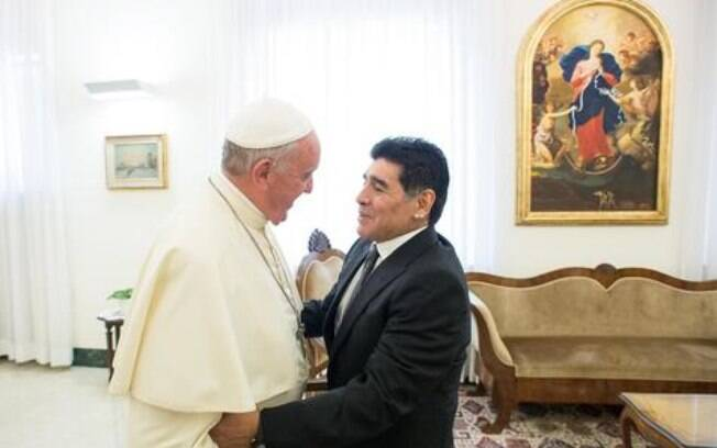 Papa Francisco e Maradona