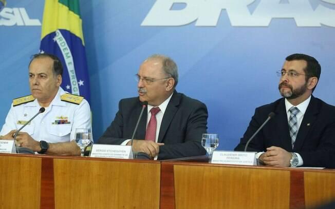 Entrevista coletiva sobre o fim da grave dos caminhoneiros foi concedida nesta quinta-feira no Palácio do Planalto