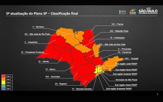 Regiões do interior de São Paulo estão na fase vermelha, a mais dura da flexibilização