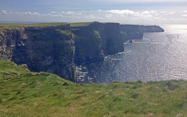 As Falésias de Moher são a atração natural mais visitada da Irlanda