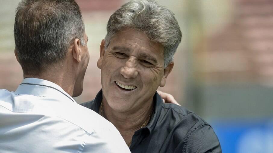 Renato Gaúcho falou sobre polêmicas no elenco do Flamengo para técnico do América-MG